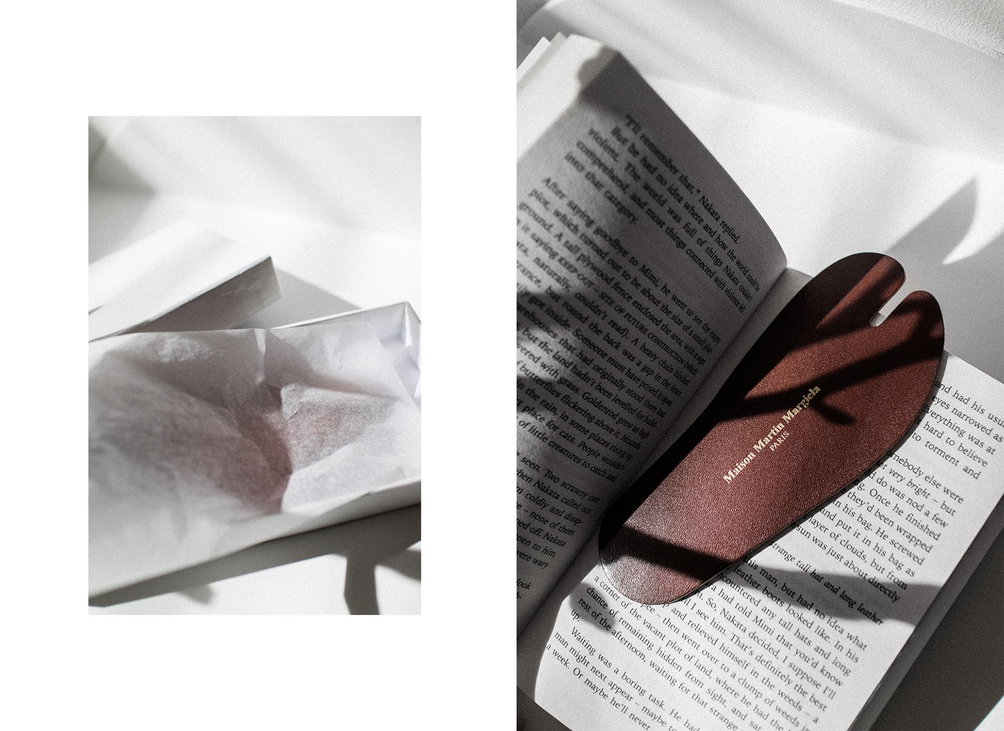 Tabi Leather Bookmark – Maison Martin Margiela Objects & Publications