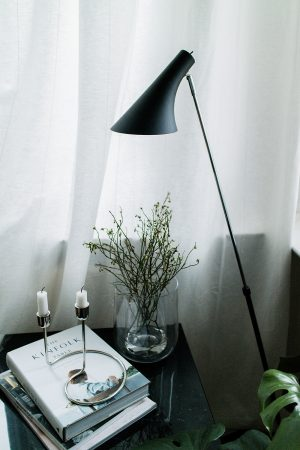 Nordlux Lamps via Lumizil - Reading Corner - Berlin Altbau Apartment Interior Inspiration / IheartAlice.com