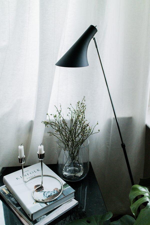 Nordlux Lamps via Lumizil - Reading Corner - Berlin Altbau Apartment Interior Inspiration / IheartAlice.com