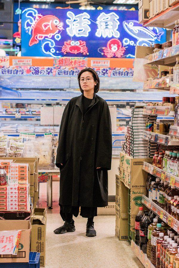 Japanese Supermarket: Yohji Yamamoto Cat, Y3 Kohna Sneakers / All Black Everything by IheartAlice.com