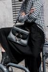 Rosetta Getty Apron Panel Pullover & JW Anderson Pierce Bag / Black White Look by Alice M. Huynh on IheartAlice.com