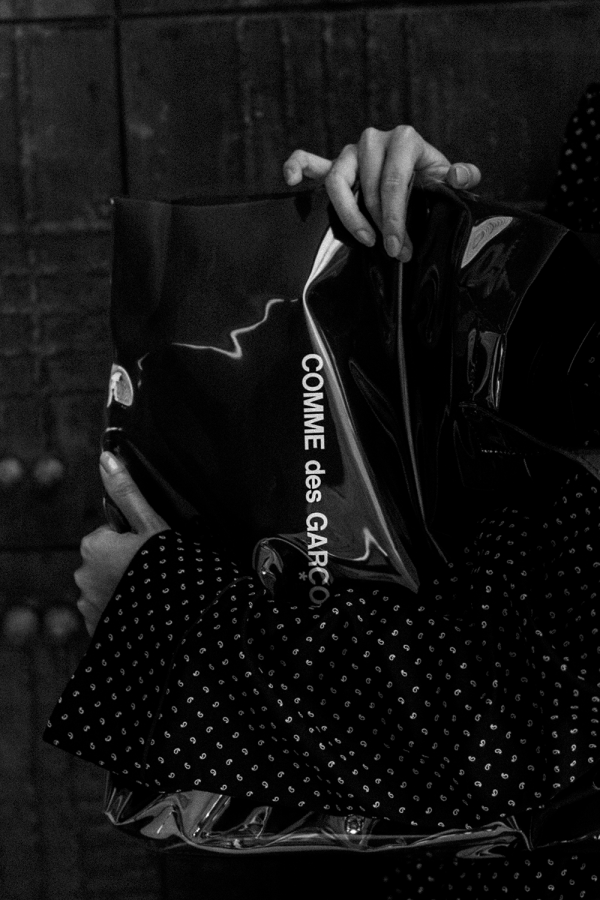 Comme des Garcons Acryl Tote Bag / DSTM - IheartAlice.com / Travelblog & Lifestyleblog by Alice M. Huynh