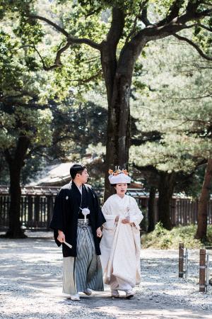 Shinto Wedding Ceremony at Meiji Shrine, Tokyo / Travel Diary by IheartAlice.com
