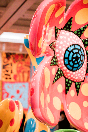 Yayoi Kusama: My Eternal Soul at Nation Art Center Tokyo / Travel & Food Guide by IheartAlice.com
