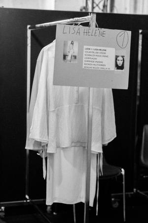 MALAIKARAISS SS 18 - Backstage Impressions during MBFW Berlin / Fashion Week Berlin by Alice M. Huynh - iHeartAlice.com