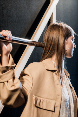 MALAIKARAISS SS 18 - Backstage Impressions during MBFW Berlin / Fashion Week Berlin by Alice M. Huynh - iHeartAlice.com