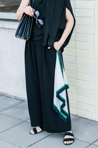 MM6 Maison Margiela Shirt Dress / all black everything outfit by Alice M. Huynh - Travel & Lifestyleblog