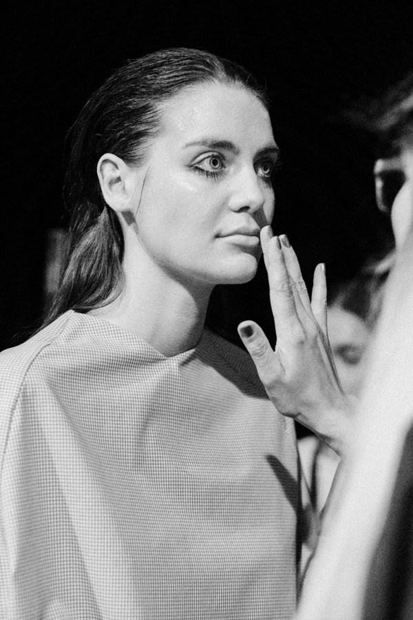 Michael Sontag S/S 18 Backstage Impressions during Berlin Fashion Week / MBFW Berlin Before The Show Shots by Alice M. Huynh / iHeartAlice.com