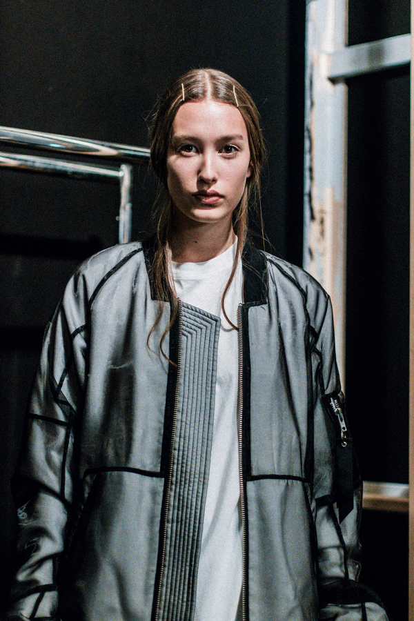 ODEUR STUDIOS S/S 18 Backstage Impressions during Berlin Fashion Week / MBFW Berlin Before The Show by Alice M. Huynh - iHeartAlice.com