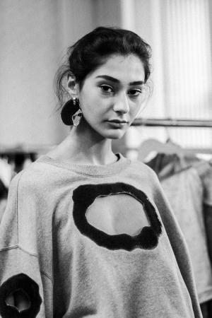 Vanessa Schindler S/S 18 Backstage at MBFW Berlin / Before The Show Fashion Week Impressions by Alice M. Huynh / iHeartAlice.com