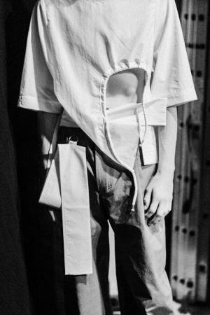 Vladimir Karaleev SS 18 Backstage MBFW Berlin by Alice M. Huynh / Before The Show Photography - iHeartAlice.com