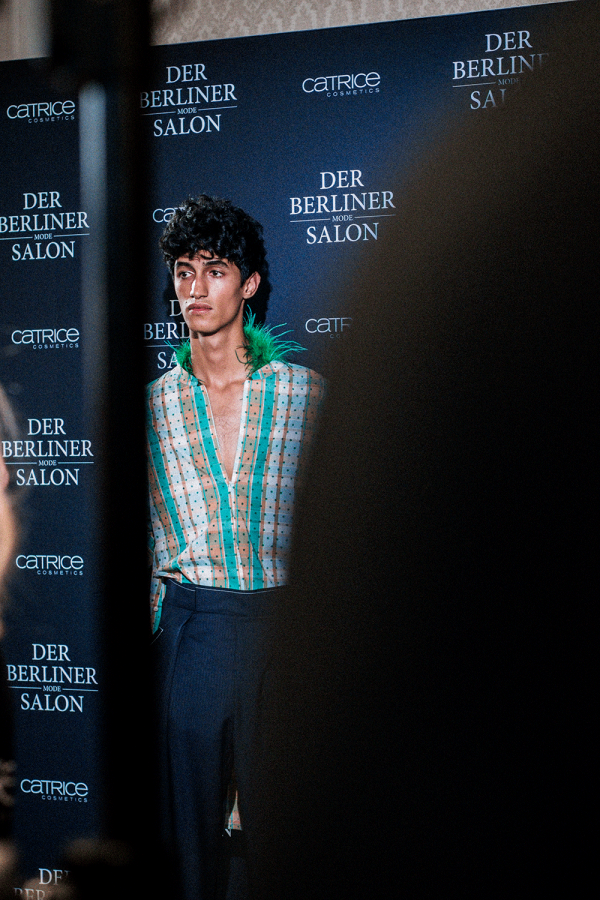 Backstage at William Fan S/S 18 during MBFW Berlin / Fashion Week Berlin, captured by iHeartAlice.com / Alice M. Huynh - Before The Show