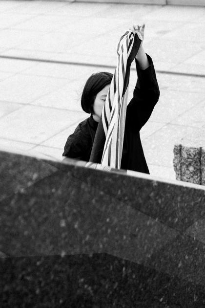 Comme des Garçons China Shirt & Wide Leg Pants - Minimalist OOTD by Alice M. Huynh / iHeartAlice.com - Travel & Lifestyleblog