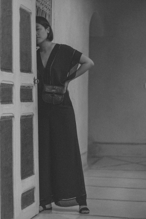 Zimmermann Lace-Trimmed Silk Jumpsuit at Sustainable Riad AnaYela, Marrakech, Morocco - Hotel Review / Where to Stay in Marrakech - Travel Guide Morocco by iHeartAlice.com - Lifestyle & Travelblog by Alice M. Huynh