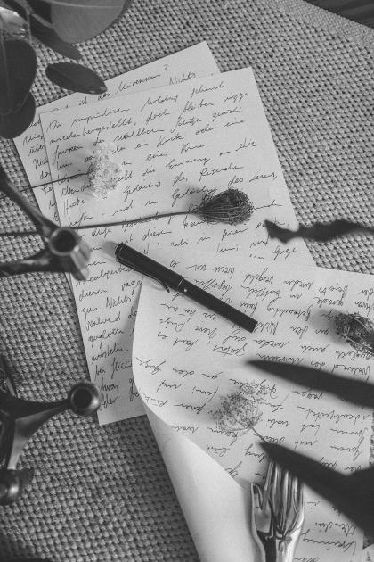 LAMY Safari All Black - Ein Liebesbrief an die Farbe Schwarz / Mix-Media Editorial by Alice M. Huynh - iHeartAlice.com