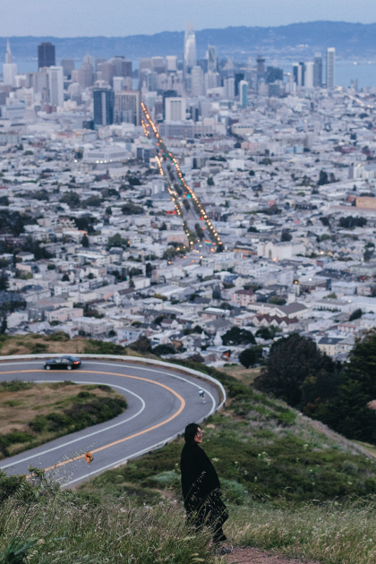 Sunset from Twin Peaks, The best view over San Francisco / iHeartAlice.com - Travel & Lifestyleblog by Alice M. Huynh