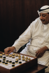 Dama – A traditional board game from Qatar / On The Streets of... Doha - Quick Guide to Qatar / Streetphotography by Alice M. Huynh - iHeartAlice.com