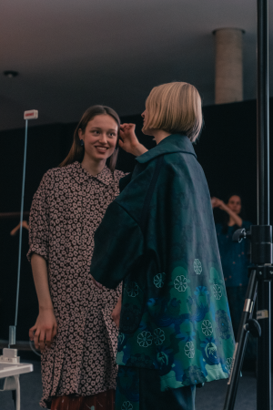 ODEEH Fall / Winter 2019 Défilé - Backstage at Berlin Fashion Week F/W 19 by iHeartAlice.com – Travel, Lifestyle & Fashionblog by Alice M. Huynh / Before The Show