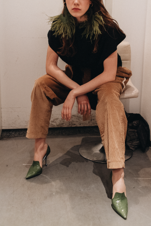William Fan Fall / Winter 2019 - Backstage at Berlin Fashion Week F/W 19 by iHeartAlice.com – Travel, Lifestyle & Fashionblog by Alice M. Huynh / Before The Show