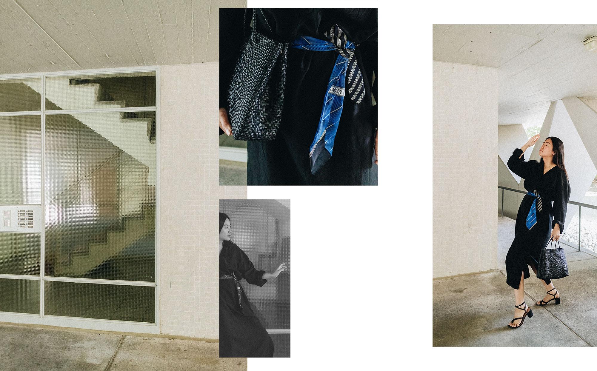ARKET Dress & Ganni Versace Vintage Tie / iHeartAlice.com - Lifestyle, Travel & Fashionblog