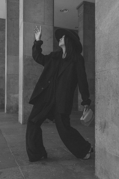 Modern Dandy Business Look in All Black Everything / iHeartAlice.com - Travel, Lifestyle & Styleblog by Alice M. Huynh