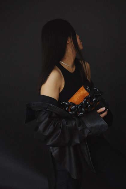 ARKET Leather Shirt & Marques Almeida Bag / Minimalist Look by Alice M. Huynh - Travel, Lifestyle, Fashion & Foodblog / iHeartAlice.com