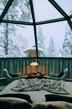 Aurora Igloo Golden Crown Levi / Lappi Travel Vlog & Quick Guide To Lappland, Finland by iHeartAlice.com - Travel, Lifestyle, Food & Fashionblog by Alice M. Huynh