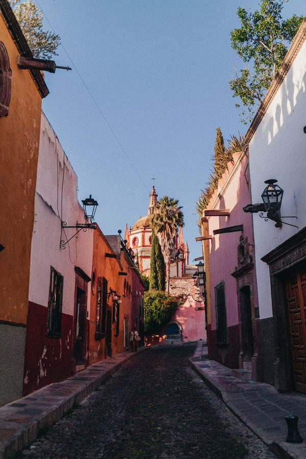Calle Aldama / A Quick Travel Guide To San Miguel de Allende – 7 Things To Do & See / Guanajuato, Mexico by Alice M. Huynh - iHeartAlice.com Travel, Fashion & Lifestyleblog / Mexico Travel Guide