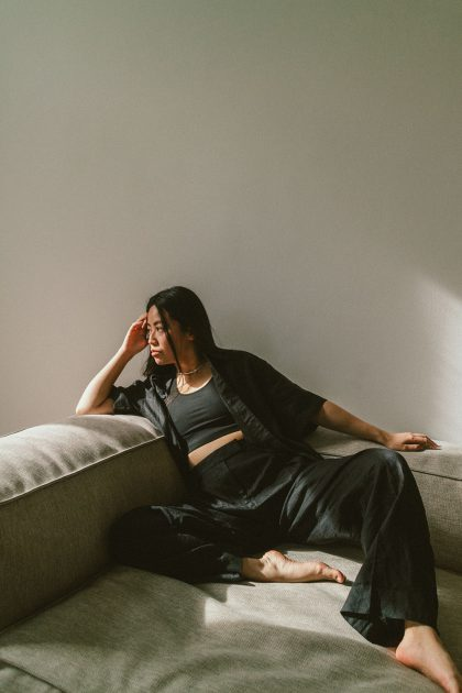 All Black Linen Set / ARKET Look by iHeartAlice.com – Lifestyle, Travel, Style & Foodblog by Alice M. Huynh / Berlin Based Styleblogger