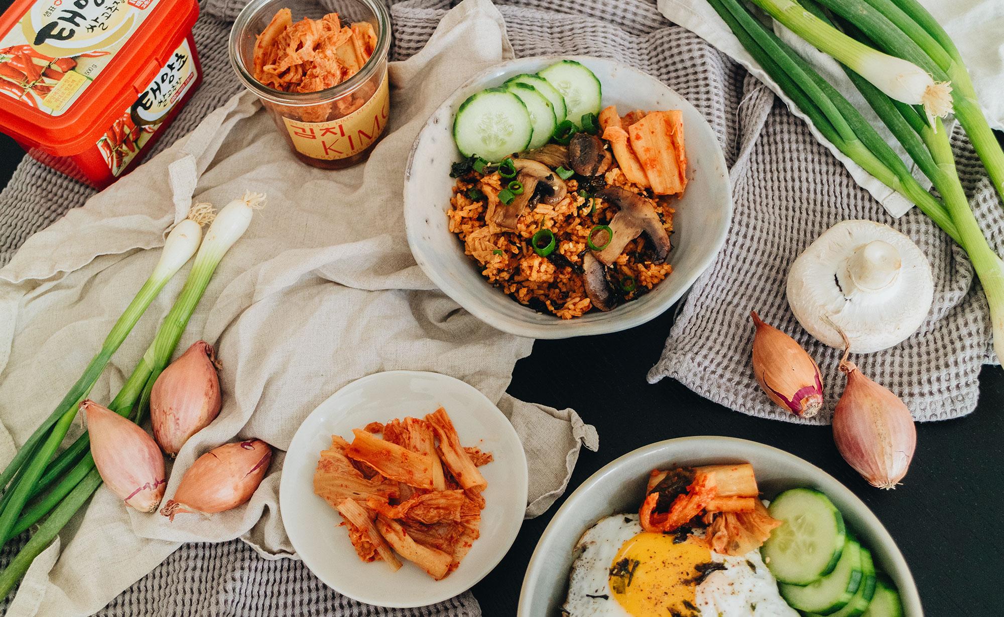 Rezept: Kimchi Fried Rice Recipe – 볶음밥 Kimchi Bokkeumbap / Einfaches Reis Rezept zum selbermachen – Travel, Food, Lifestyle & Fashionblog by Alice M. Huynh