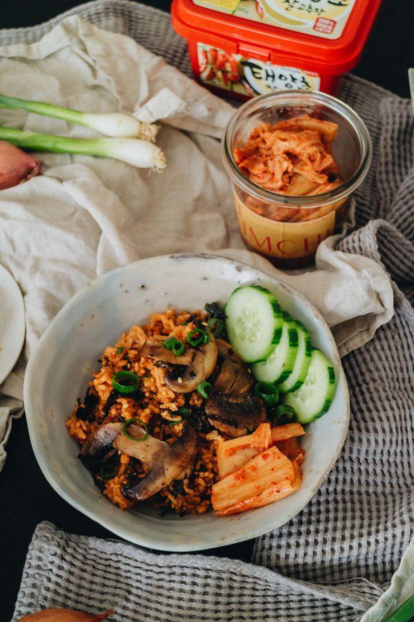 Rezept: Kimchi Fried Rice Recipe / Einfaches Reis Rezept zum selbermachen – Travel, Food, Lifestyle & Fashionblog by Alice M. Huynh