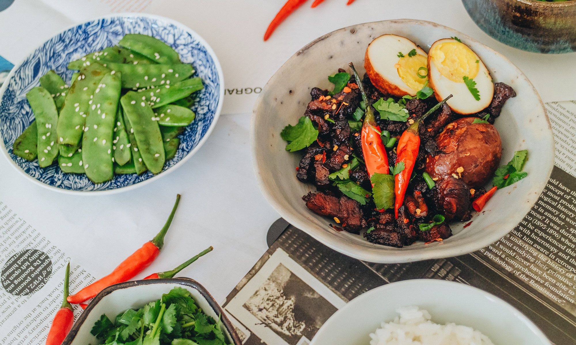 Caramelized Porkbelly with Eggs – Thịt Kho Rezept / Classic & Authentic Vietnamese Dish Recipe by Alice M. Huynh – Travel, Food & Lifestyleblogger on iHeartAlice.com