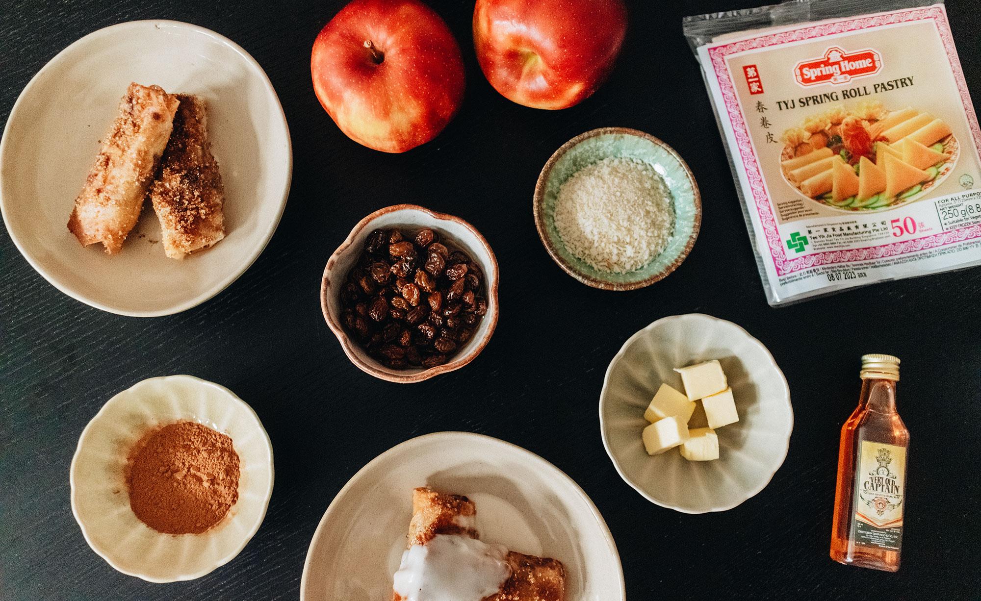 Apple Turon – Filipino Apple Lumpia Rezept / Filippinische Apfeltaschen – iHeartAlice.com / Travel, Lifestyle, Food & Fashionblog by Alice M. Huynh
