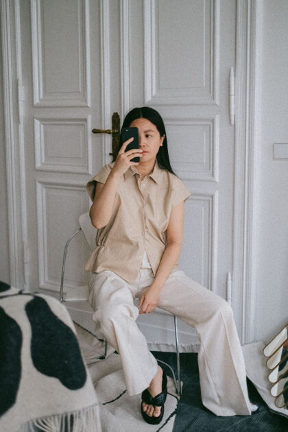 All that beige and cream / Simple & Minimalist look with Hien Le, ARKET & Uniqlo U by Alice M. Huynh / iHeartAlice.com - Travel, Lifestyle & Fashionblog based in Berlin