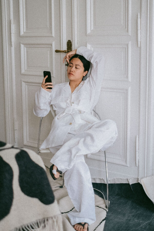 Hien Le Spring / Summer 2021 – All White Elegant Summer Look by Alice M. Huynh / iHeartAlice.com – Travel, Lifestyle & Fashionblog from Berlin
