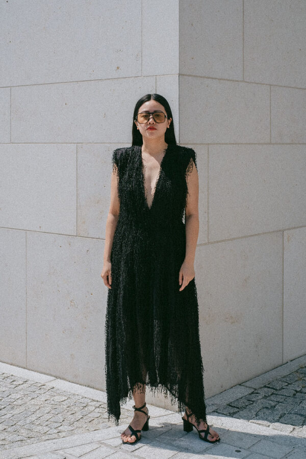 Wedding Guest Attire – H&M Studio Collection SS 21 / Black Fringe Dress w/ Cut-out - Travel, Lifesyte & Fashionblog by Alice M. Huynh / iHeartAlice.com