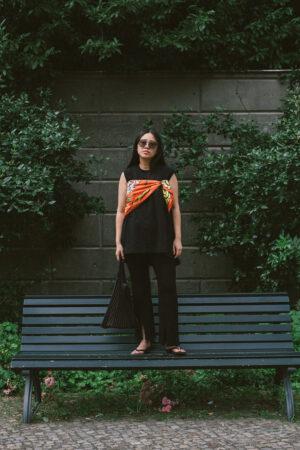 Studio Hilal Mantu Silk Scarf & UNIQLO x Mame Kurogouchi / Fashion & Lifestyle Blog from Berlin – iHeartAlice.com
